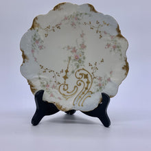 "Load image into Gallery viewer, Elite Limoges Gold Trim Floral 8.5"" Plate"