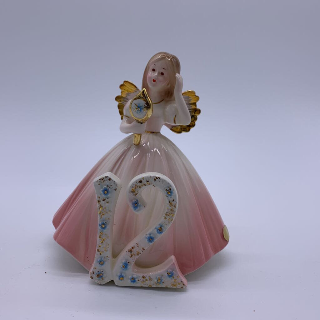 Josef Originals 12th Birthday Angel Figurine