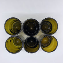 Load image into Gallery viewer, Monogrammed M Lowball Recycled Wine Beer Glasses