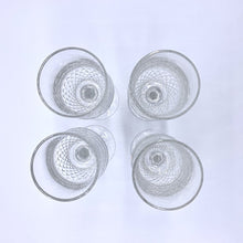 Load image into Gallery viewer, Galway Crystal Royal Irish Claret Wine Glasses- Set of 4