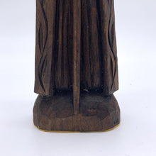 Load image into Gallery viewer, Carved Wood Figural Man with Staff