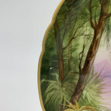 Load image into Gallery viewer, Island Scene Limoges Hand-Painted Decorative Plate by Tomy