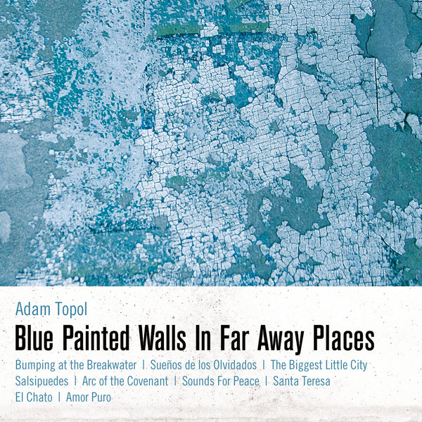 ADAM TOPOL - Blue Painted Walls In Far Away Places - VINYL