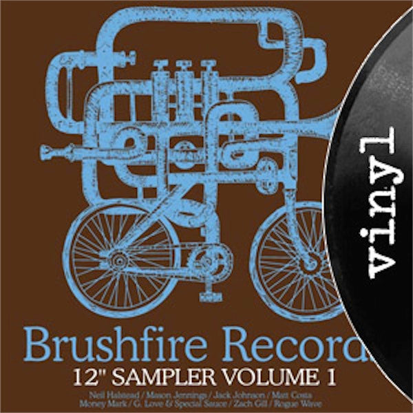 Brushfire Records Sampler Vol. 1 - VINYL