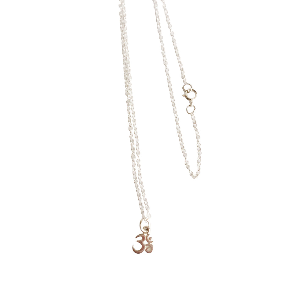 Beautiful Dainty Om Necklace, Dainty Necklace