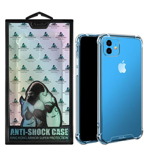 iPhone 11 & 11 Pro Max King Kong Anti-Burst Super Protection Shockproof TPU Clear Case