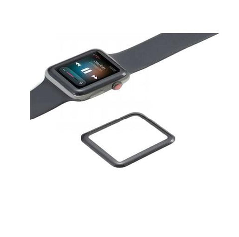 Green 3D Full Glass Screen Protector for Apple Watch 3/4/5