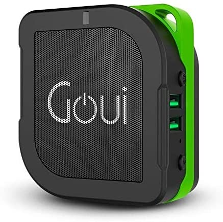 Goui BUYUNI 3 in 1 5200mAh Ultra Fast Charging Power Bank + Bluetooth Speaker 5W + Wall Charger 2 USB