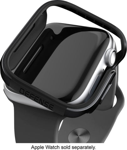 X-Doria Defense Edge Case for Apple Watch 44mm - Black
