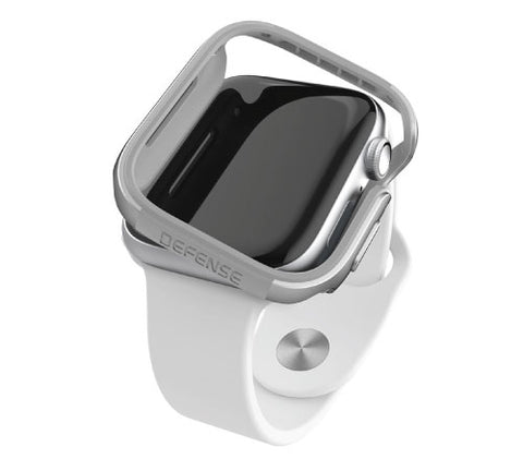 X-Doria Defense Edge Case for Apple Watch 44mm - Silver