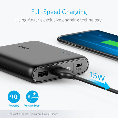 Anker PowerCore 13000 C (USB-C Input only)
