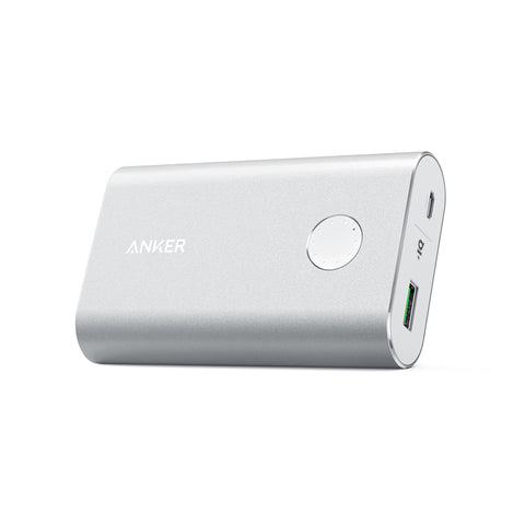 Anker Powercore+ Silver 10050mAh with Qc3.0 Power Bank Brand: ANKER