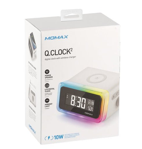 Momax Clock 2 (Clock and Wireless Charger)