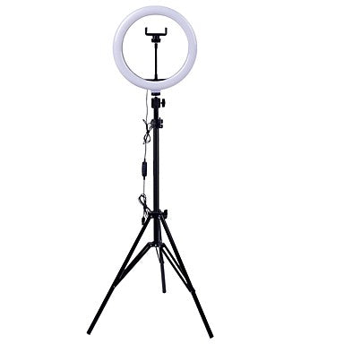 ZGA Selfie Mirror Ring Light + Home Charger