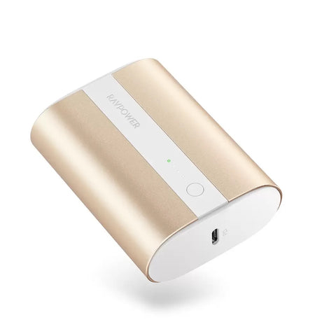 RAVPower Power Bank 10000mAh PD+QC 2-Port 18W