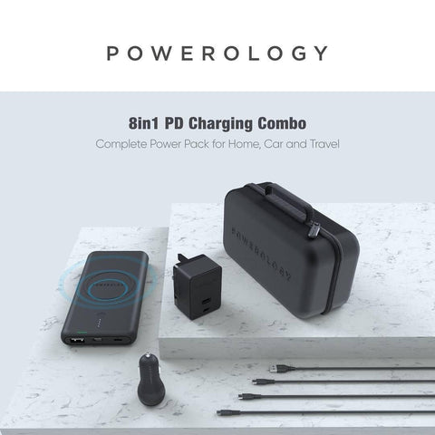 Powerology 8 in 1 kit