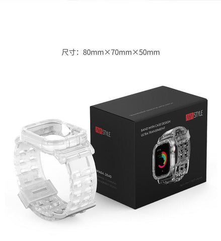 AhaStyle Transparent TPU Apple Watch Bands