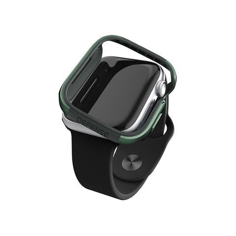 X-Doria Defense Edge Case for Apple Watch 40mm - Midnight Green