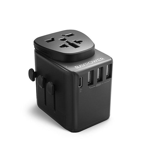 ravpower diplomat 30w 4-port travel charger