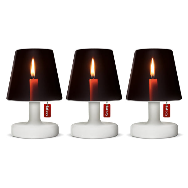 Fatboy oplaadbare lamp, Edison The Mini (set van 3 lampjes) + gratis mini Cappie Candles (3 stuks) twv € 20,-