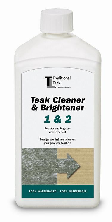 Traditional Teak, Teak Cleaner and Brightener 1&2