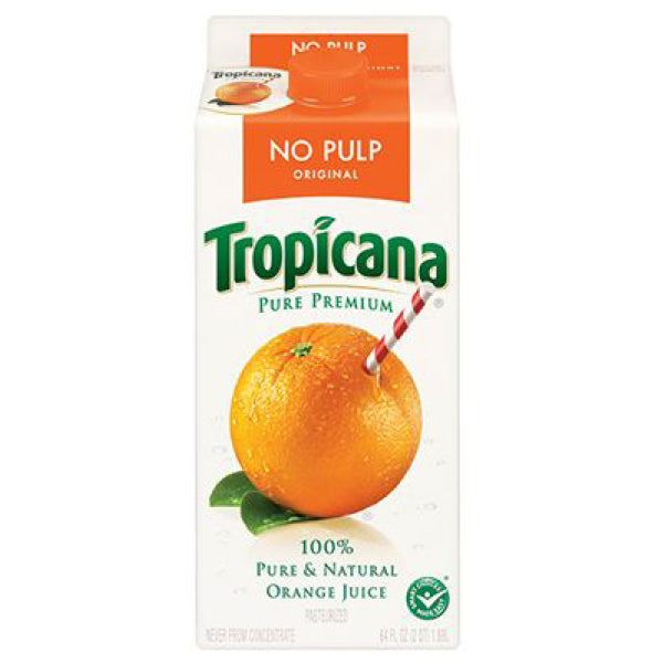 Orange Juice - No Pulp
