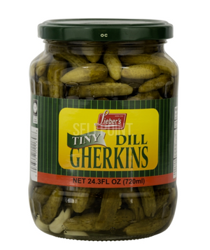 Tiny Dill Gherkins