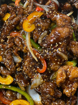 Spicy Sesame Beef