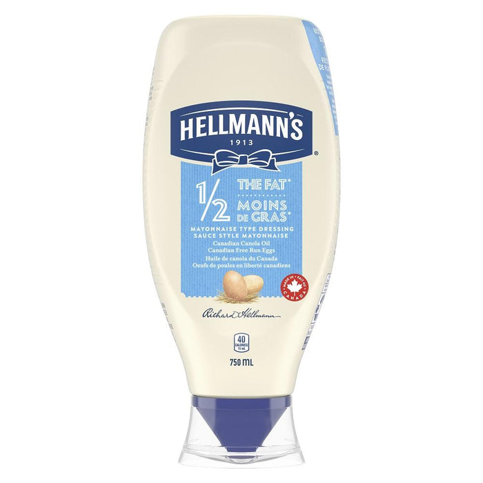 Hellmann's 1/2 The Fat Mayonnaise