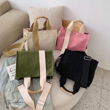 Load image into Gallery viewer, TheFreshLab Fresh Bags Hana Korean Style Canvas Bag The Fresh Lab Singapore