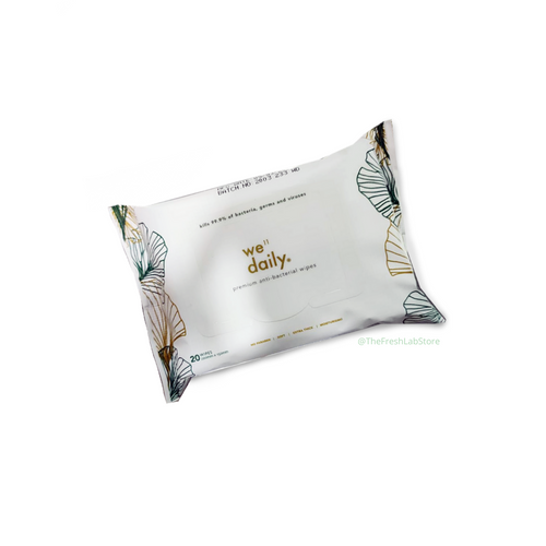 Well Daily Premium Anti-Bacterial Wipes