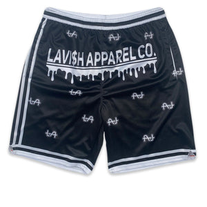"Lavi$h ""All Around"" Shorts (Black)"