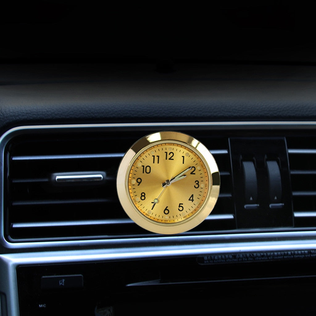 Car Aromatherapy Clock Fashion Air Outlet Perfume