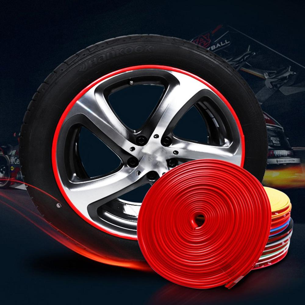 Hot 8 M Car Wheel Protection Wheel Sticker