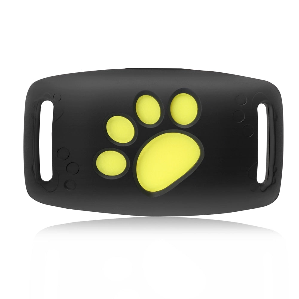 Pet GPS Tracker, Waterproof GPS Dog Cat Collar Attachment Positioning Tracking Device USB Charging, Security Fence, Remote Listening, Callback Function, Excellent Design, Practical, for Outdoor