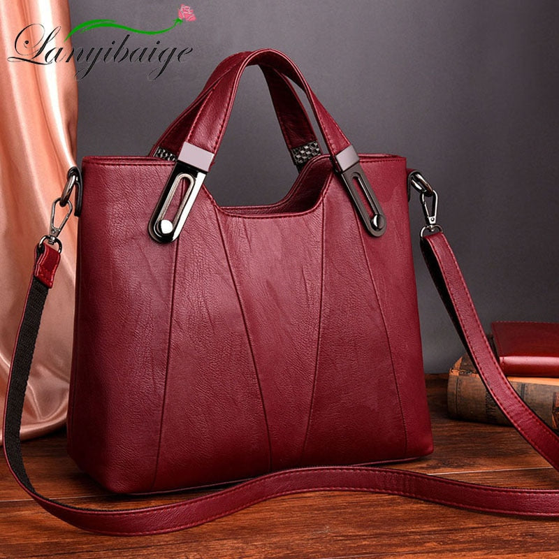 NEW! Women Shoulder Messenger Bag Luxury Leather Handbag