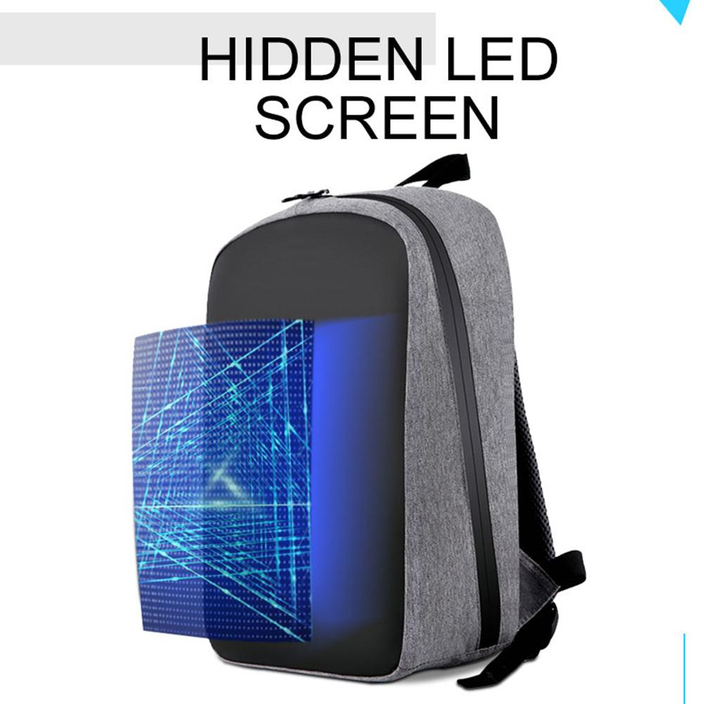 Smart Digital Waterproof Backpack LED Laptop And Travel Backpack For Men And Women