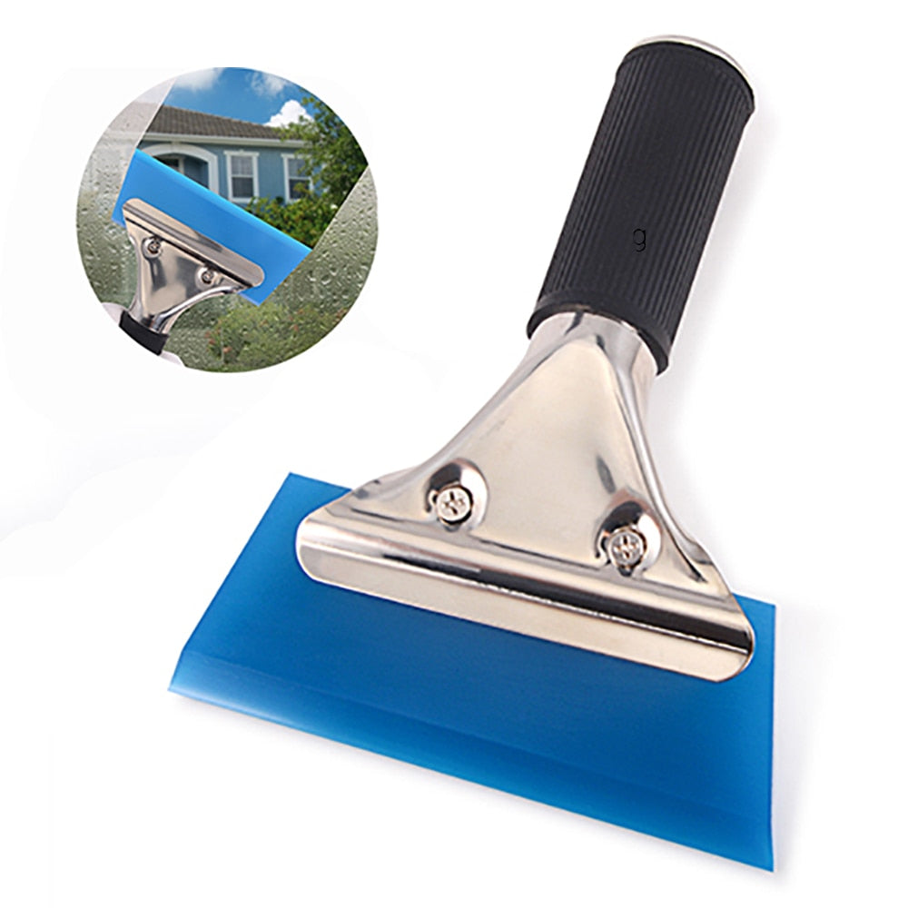 Automotive Car Cleaning Tool Brush Rubber Squeegee