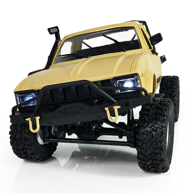 WPL C14 1:16 Radio RC Military Truck 4 Wheels Drive Off-Road Metal Vehicle Remote Control Climb Toys Car RTR Upgrade Metal Shaft
