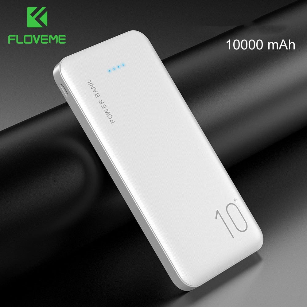 EnergyCell Ⅱ 10000 Portable Charger PD 18W,10000mAh Portable Charger USB-C Power Delivery (18W) Power Bank for iPhone 11/11 Pro / 11 Pro Max / 8 / X/XS, Samsung S10, Pixel 3 / 3XL, and More