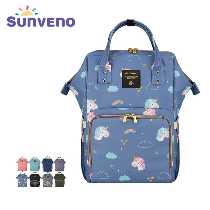 Sunveno Mummy Diaper Bag Brand Large Capacity