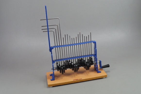 Wave Motion Machine Demonstration Working Model, Metal, 18 pulley