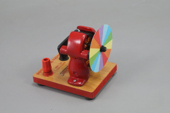 Electric Motor Model with Newton Colour Disc