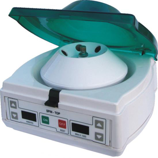 MINI CENTRIFUGE DIGITAL, BRUSHLESS, MAX SPEED 10000 RPM