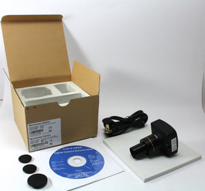 14 Megapixel CMOS Research Microscope Camera with Measurement Software