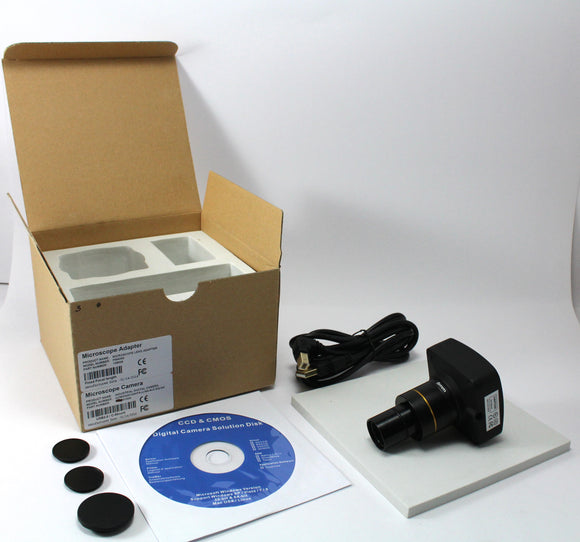 10 Megapixel CMOS Research Microscope Camera with Measurement Software