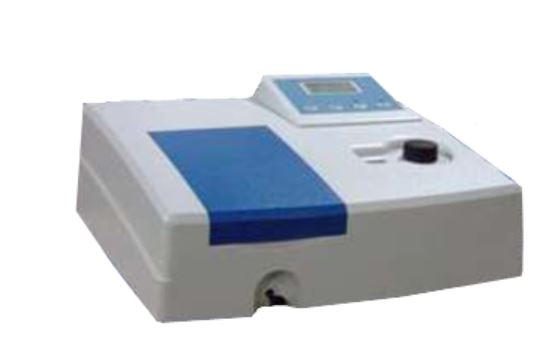 Microprocessor Single Beam Visible Spectrophotometer with Software