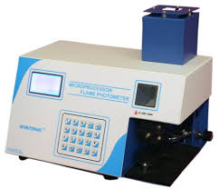 MICROPROCESSOR FLAME PHOTOMETER (GRAPHICAL DISPLAY)