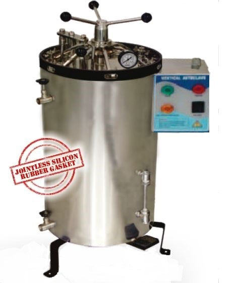 VERTICAL AUTOCLAVE RADIAL LOCKING (SS)