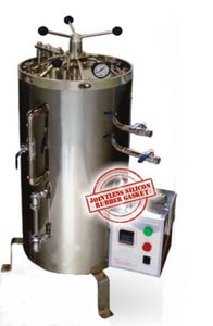 VERTICAL AUTOCLAVE TRIPPLE WALLED